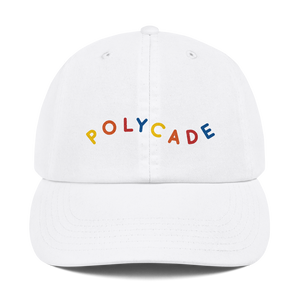 Polycade Playland Dad Cap (embroidered)
