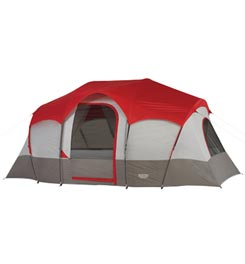 WENZEL BLUE RIDGE - 14'X9' - 2 ROOM FAMILY TENT