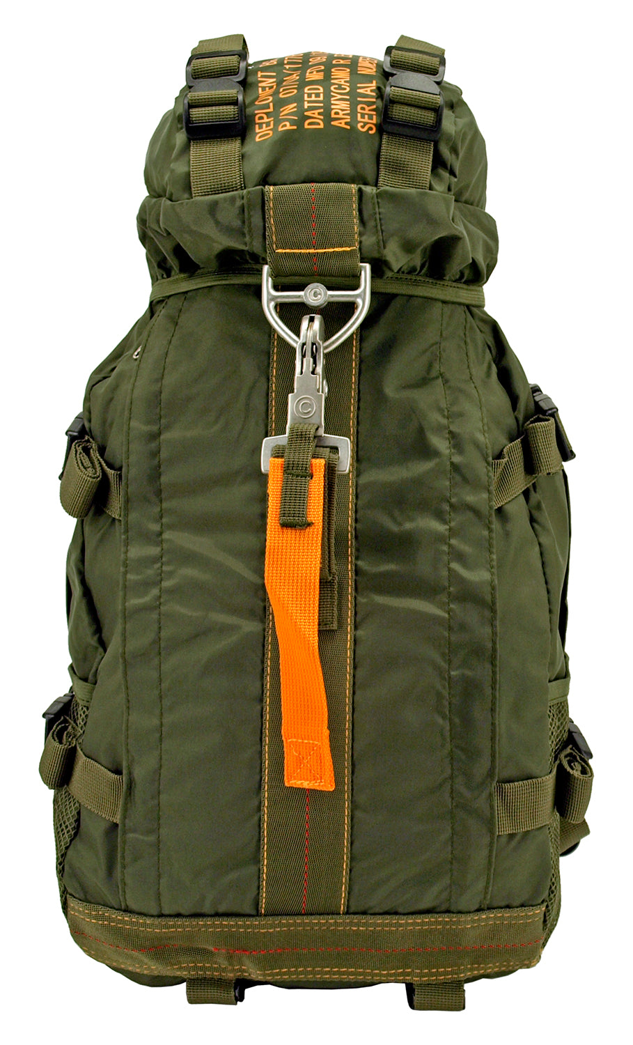 Flight Parachute Backpack - Olive Green