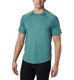 COLUMBIA TECH TRAIL II SHORT SLEEVE CREW - MEN'S