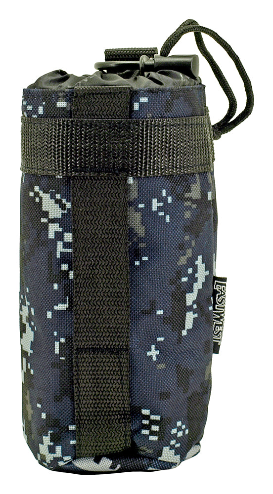 Tactical Water Bottle Holder - Blue Digital Camo