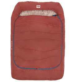 KELTY TRU COMFORT DOUBLEWIDE 20 DEGREE SLEEPING BAG