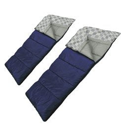 WENZEL OZZIE & HARRIET 40 DEGREE DOUBLE SLEEPING BAG