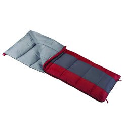 WENZEL LAKESIDE 40 DEGREE RECTANGULAR SLEEPING BAG