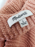Madewell Monterey Sweater Tank Size Large