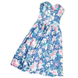 Laura Ashley Vintage Floral Dress Size XS