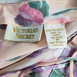 Vintage Victorias Secret Satin Floral Cami Top Size Medium