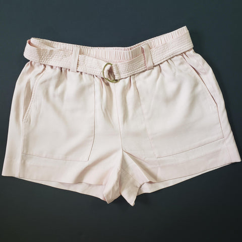 J. Crew Drapey Belted Pull-On Shorts Size Small