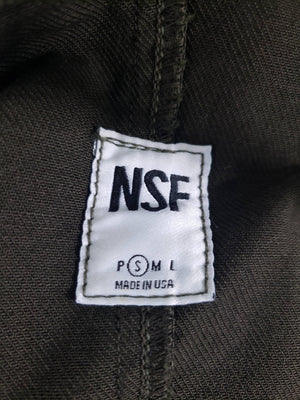 NSF Utility Jacket Distressed Twill Size Small