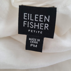 Eileen Fisher Tunic Top Size Medium Petite