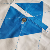 Royal Awesome Golf Pants Scottish Saltire Flag Size 44 x 28 Mens