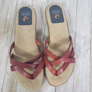 GH Bass Sharon Sunjun Sandals Size 7.5