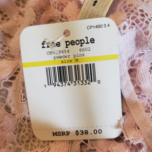 Free People Reese Bralette Lingerie Size Medium