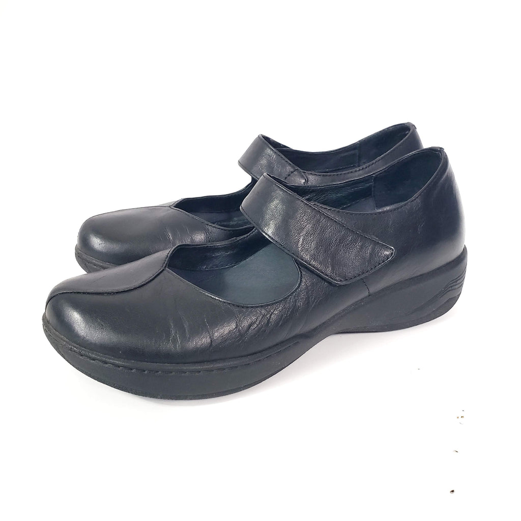 Dansko Annie Mary Jane Clogs Shoes Size 39