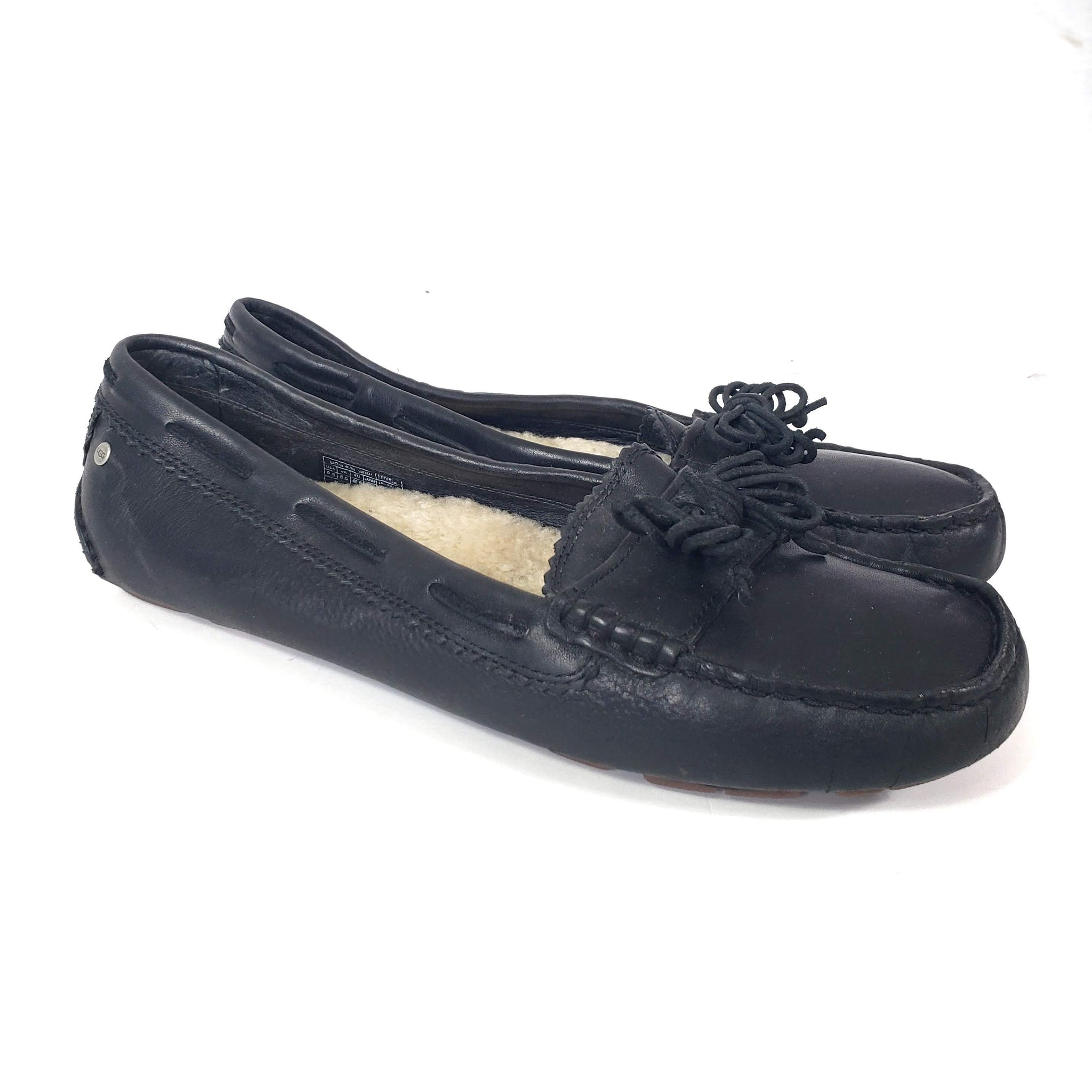 UGG Meena Moccasin Slip On Shoes Size 9.5