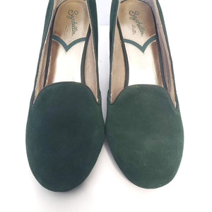Seychelles Bat My Eyes Loafer Heels Size 11