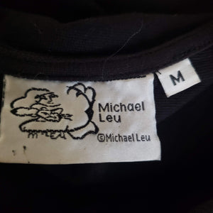 Vintage Michael Leu Tee Dress Size Medium