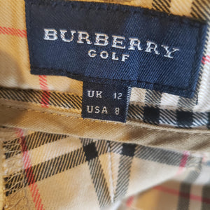 Vintage Burberry Gold Pants Size 8