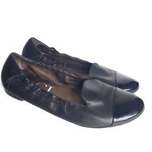 AGL Smoking Flats Loafers Size 8