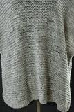 EILEEN FISHER Knit Top Short Sleeve Boxy Cotton Blend Wonder Stitch Size Large