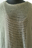 BK Moda Sweater Knit Art to Wear Lagenlook Layering Tunic One Size