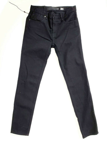 Alexander Wang Jeans Denim X Relaxed Fit Black High Waist Size 25 Womens