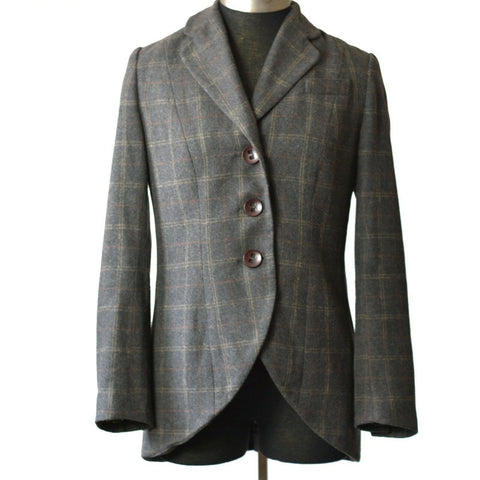 Cabi Riding Club Jacket Equestrian Plaid Blazer Style 160 Size 8