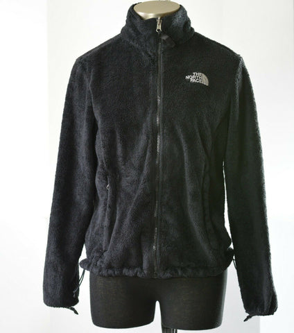 North Face Osito Jacket Black Fleece Full Zip Womens Size Medium