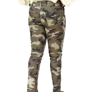 Sanctuary Camo Twill Pants Size 28