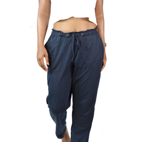 J. Jill Drawstring Pants Lounge Blue Size Small