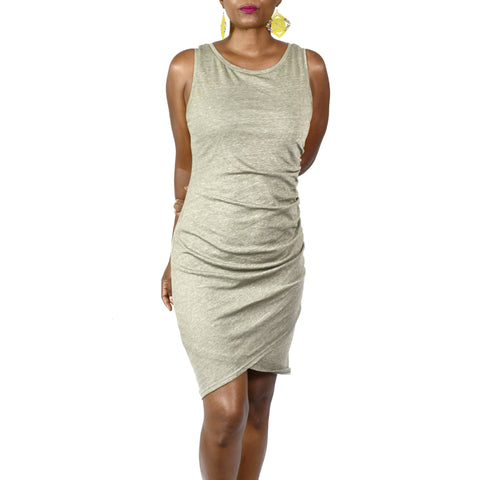 Nordstrom brand Leith Ruched Bodycon Dress Size Medium