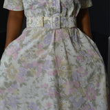 Vintage Stuart Alan Floral Dress Size Small