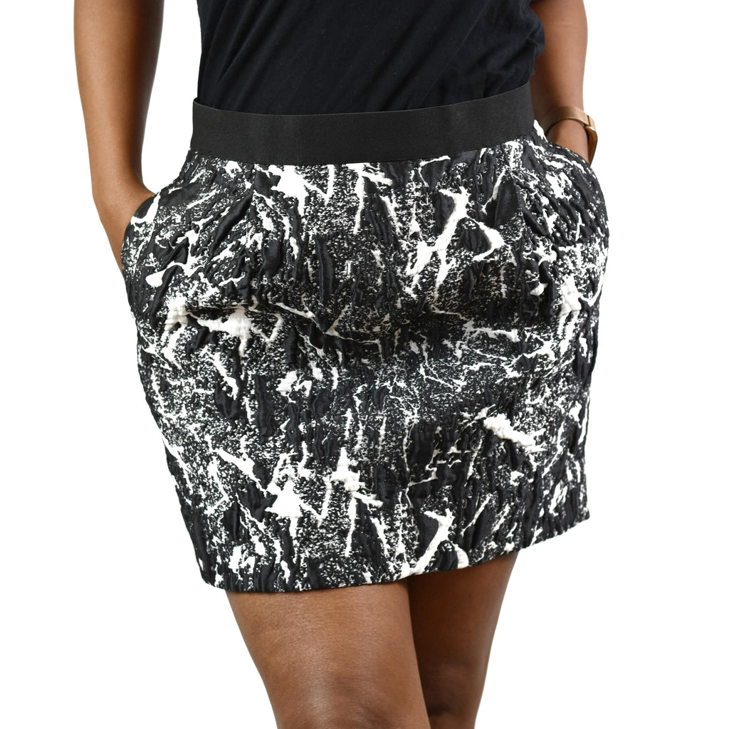 COS Marble Print Mini Skirt Size 6