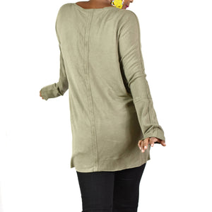 Kit and Ace Olsen Brushed Tunic Top Size Small