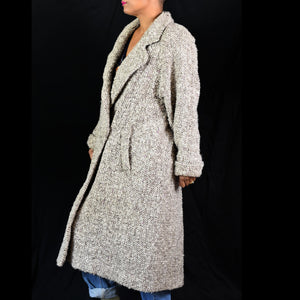 Vintage Braeton Tweed Coat Size Medium