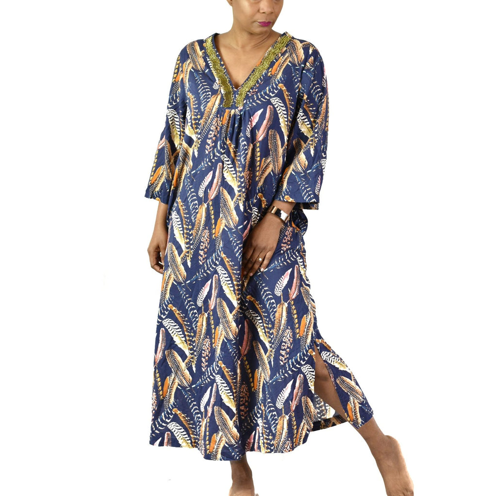 Kate Landry Caftan Dress Size Large