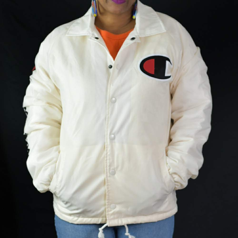 Champion Sherpa Lined Coaches Jacket