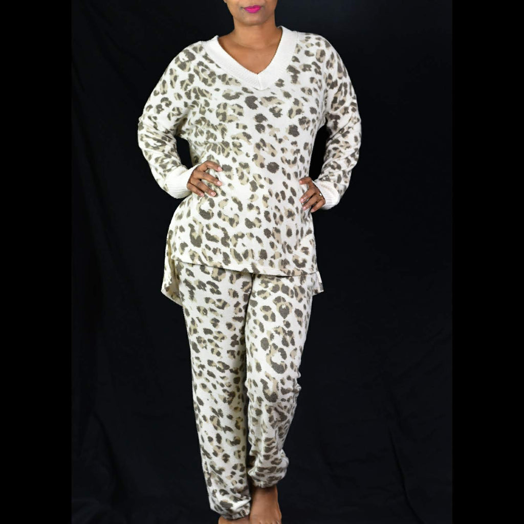 White Burch Lounge Set Size Large