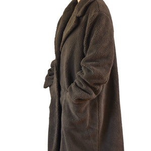 Long Tall Sally Longline Teddy Coat
