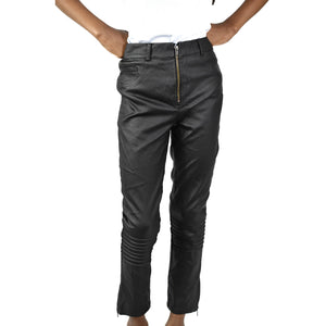 Evil Twin The Blondie Vegan Leather Crop Pants Size XS