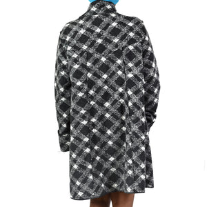 Janska Becka Plaid Coat Size XL