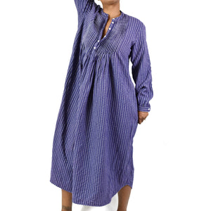 LL Bean Flannel Nightgown Size Small