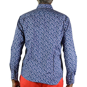 Quieti Floral Woven Shirt Size Medium Mens