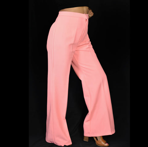 Vintage 70s Montgomery Wards Pants Size 28 6 8 Medium