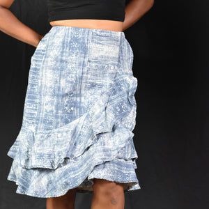 LRL Ralph Lauren Tiered Skirt Size 4