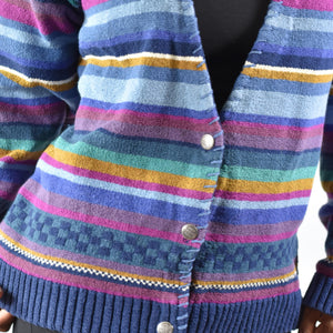 Vintage LL Bean Cardigan Sweater Size Large
