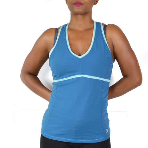 Alo Racerback Tank Active Top Shelf Bra Medium