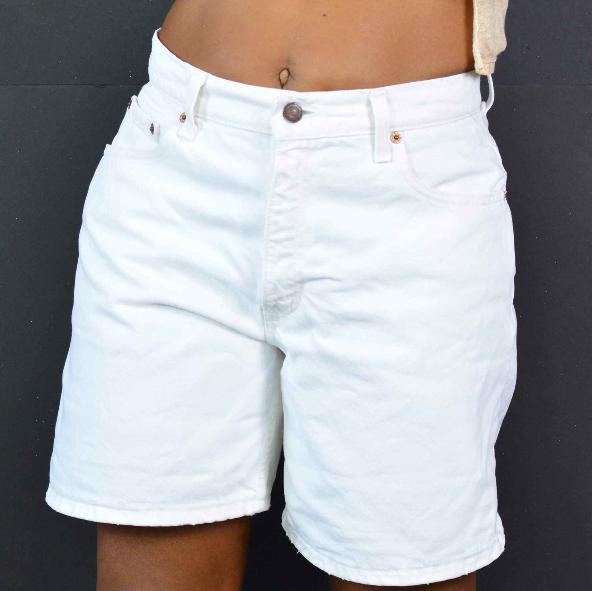 Levis 550 Vintage Jean Shorts High Rise USA Size 29 30