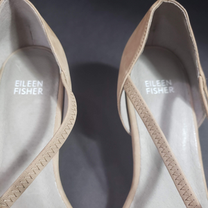 Eileen Fisher Poet Heels Crisscross Slip On Size 10