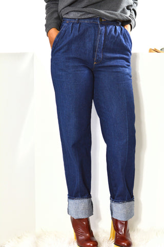 Jordache Jeans High Rise Mom Wedgie Vintage Size 26 Inseam 33